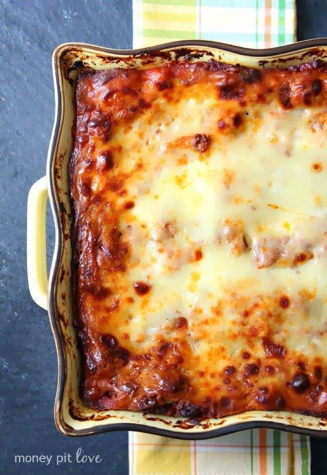 Money Pit Love: Recipe Tuesday | Epic Lasagna (fo' realz)