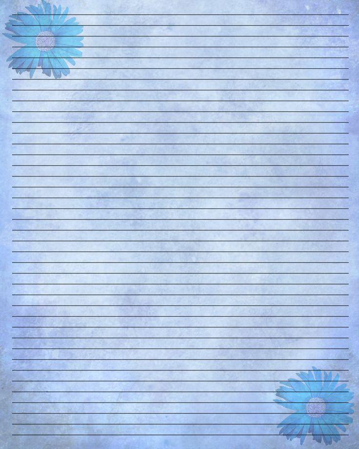 412 best Printables images on Pinterest Letter fonts, Script - free printable writing paper