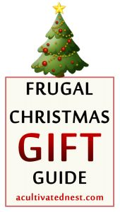 Frugal Christmas Gift Guide - homemade gifts in a jar
