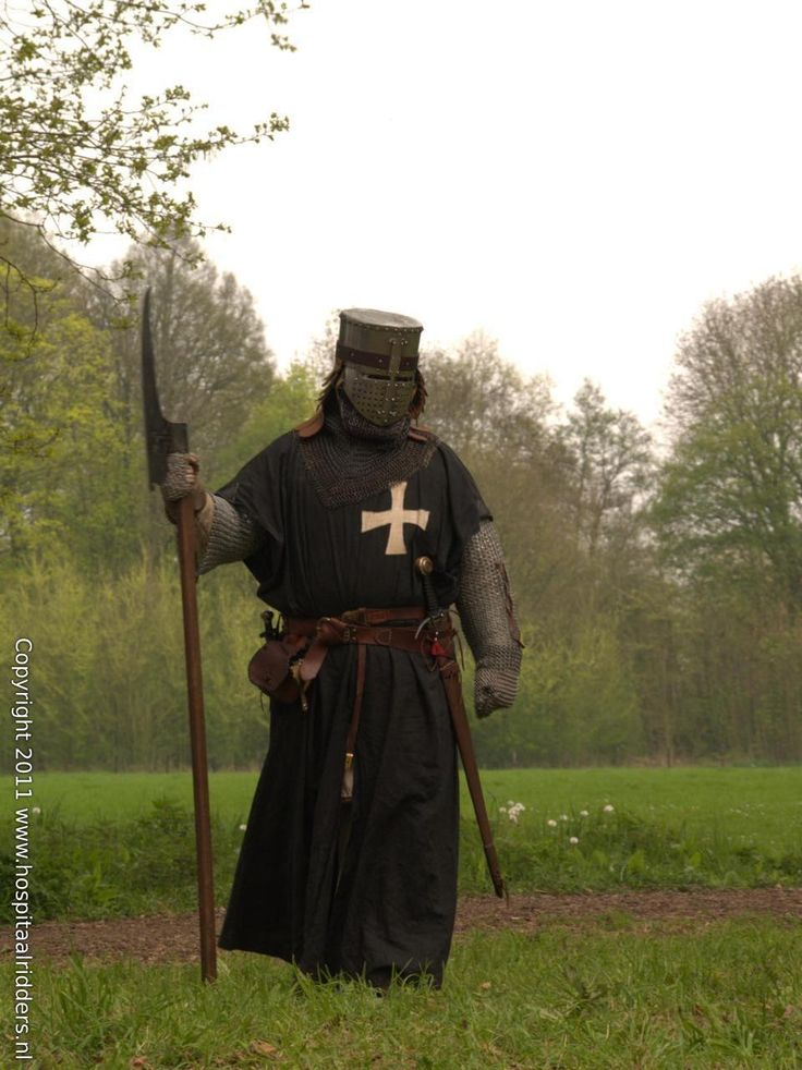 A Knight Hospitaller if I ever chnage from being a Viking I would be a Teutonic Knight or Hospitaller ...