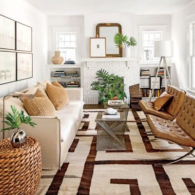 Updated Bungalow: The Living Room