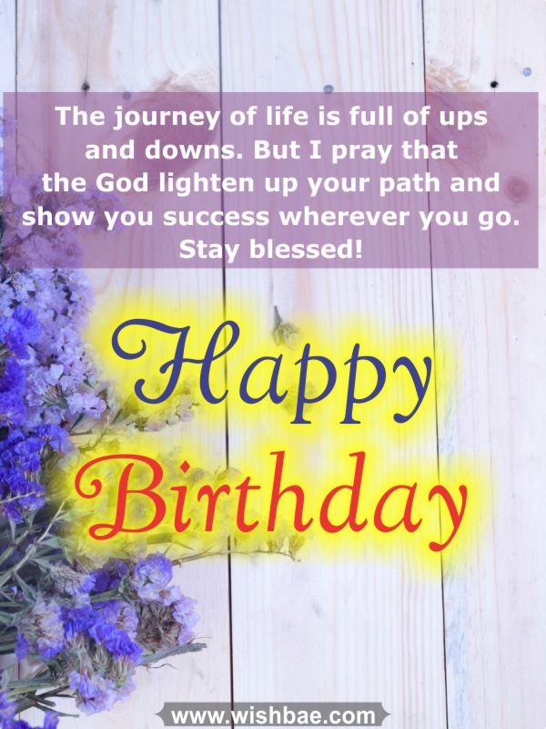 Happy Birthday Blessing Quotes Images: Happy Birthday Blessings, Prayers From The Heart