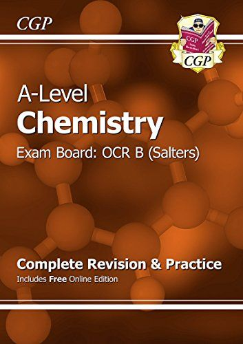 From 12.64 New A-level Chemistry: Ocr B Year 1 & 2 Complete Revision & Practice With Online Edition