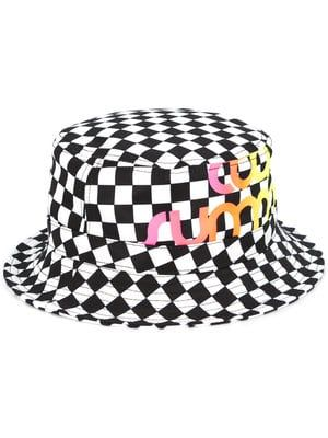 Cool Summer checkered print hat  6e772cd1cef1