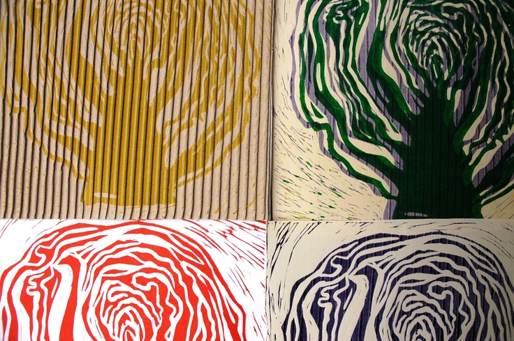 linocut cabbage prints: Linocut Cabbages, Cabbages Prints, Cabbage Prints