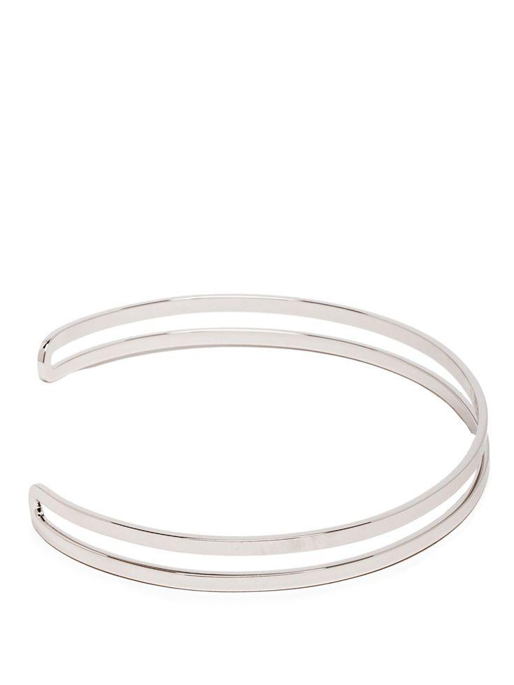 Maison Martin Margiela   Silver Choker Necklace
