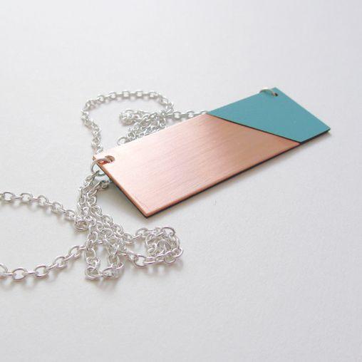 Copper Mint Necklace