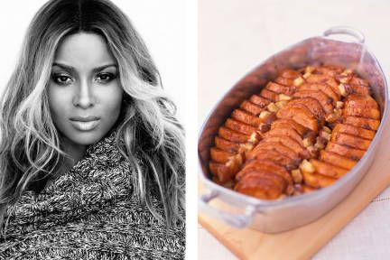 Ciara's recipe for candied yams