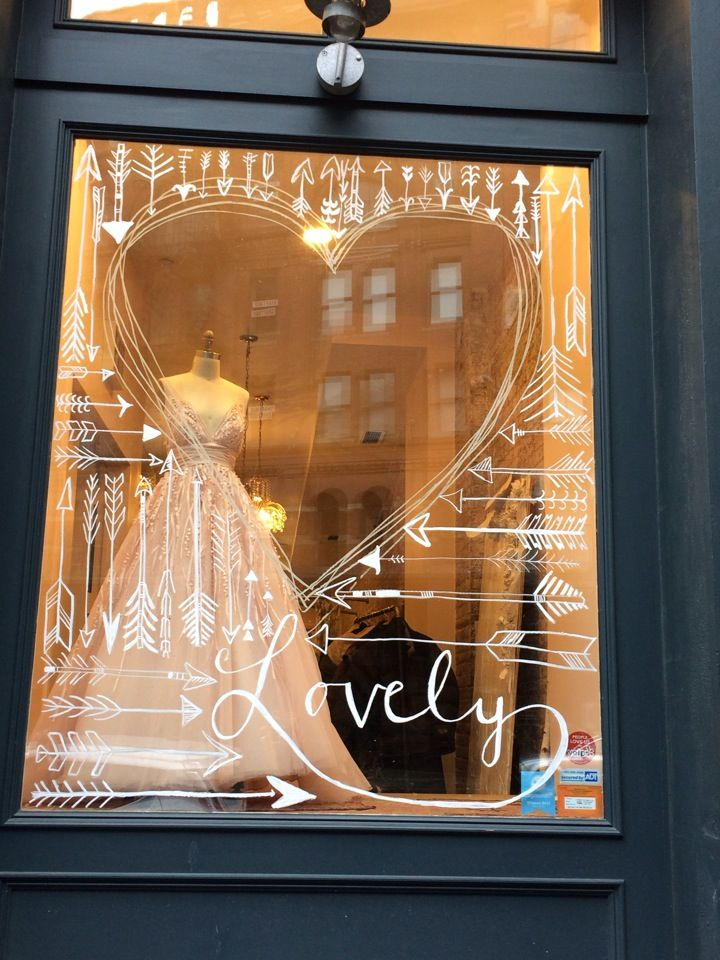 147 best images about window writing drawings on for Boutique window display ideas