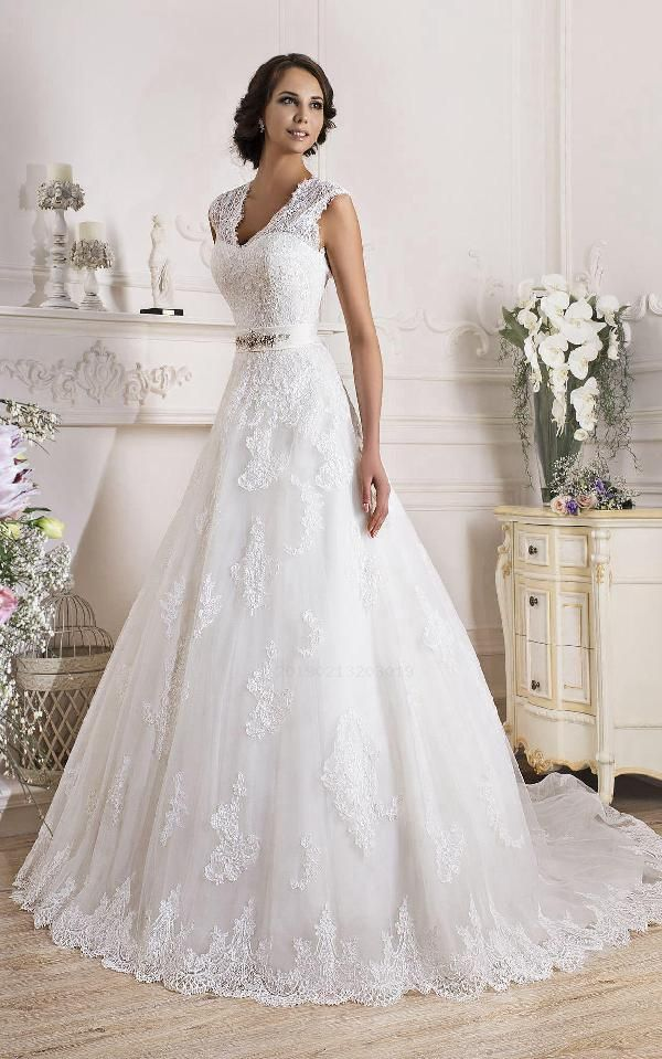 Low cost Superb Appliques Gown, Lace Gown, Sleeveless Gown, Corset Gown