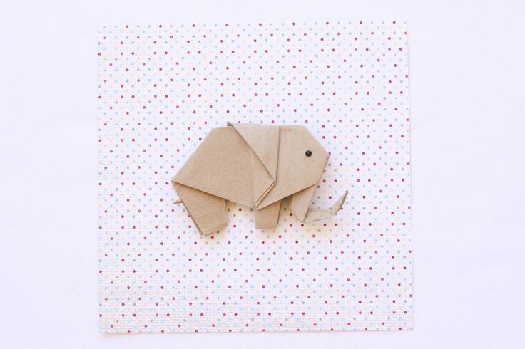 Origami Elephant — Bubba&Beyond