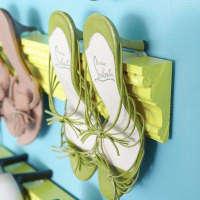 for Kelli, shoe organization
