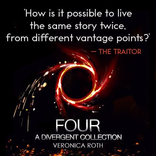 Quote from FOUR: A DIVERGENT COLLECTION by Veronica Roth ...