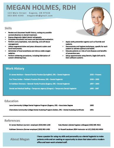 33 best dental hygiene resumes images on pinterest