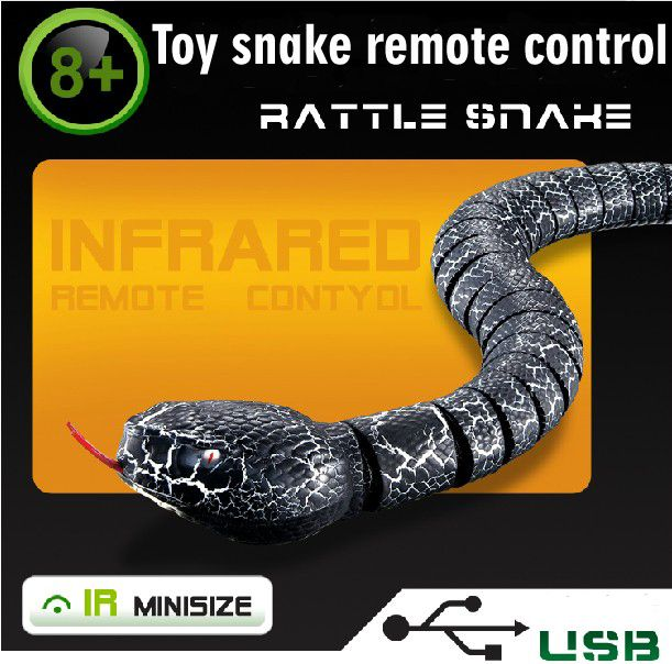 New Hot 1pcs Creative Remote control Electronic Pet Snake High Simulation Christmas Gifts toys for children