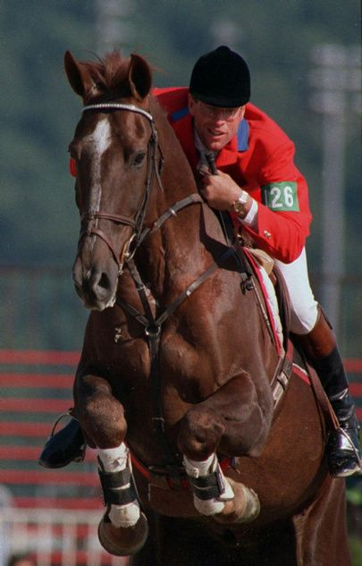Big Ben and Ian Miller.  I saw this combo win the National Horse Show's Grand Prix back in the day! My all time favorite horse and rider duo!