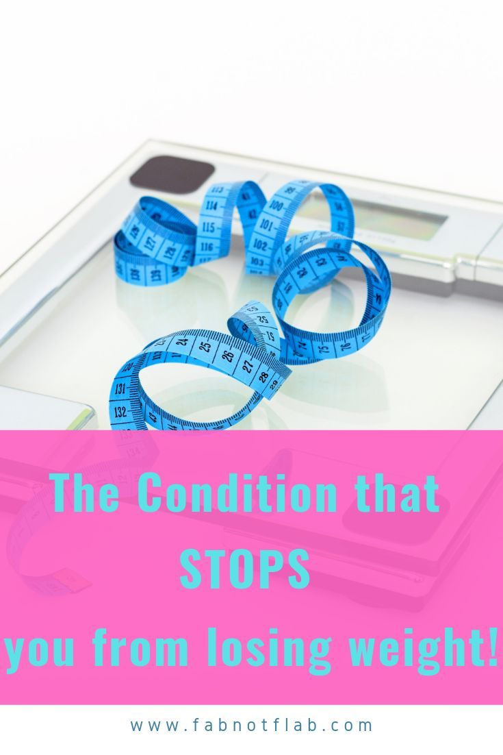 Condition That Can Stop Weight Loss Body Fat Breakthrough Lean Belly