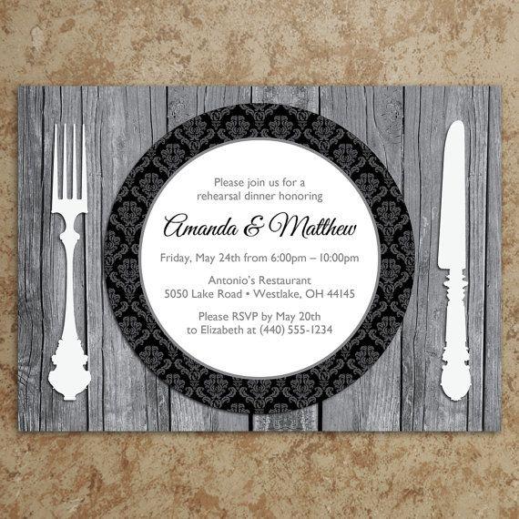 Rehearsal Dinner Invitation Etiquette: 17 Best Images About Etiquette Dinner On Pinterest
