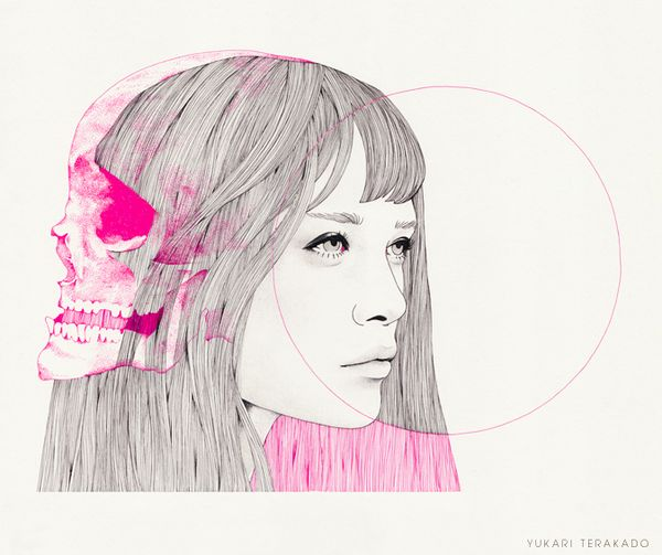 girl-24 by Yukari Terakado, via Behance