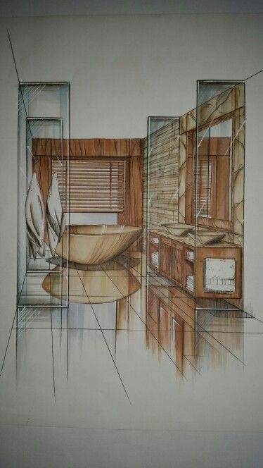 Room Drawing Pencil: 549 Best Interior Drawing Images On Pinterest