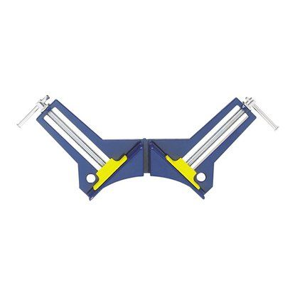 Струбцина LUX BASIC стальная для соединения под углом 90 градусов 75 мм