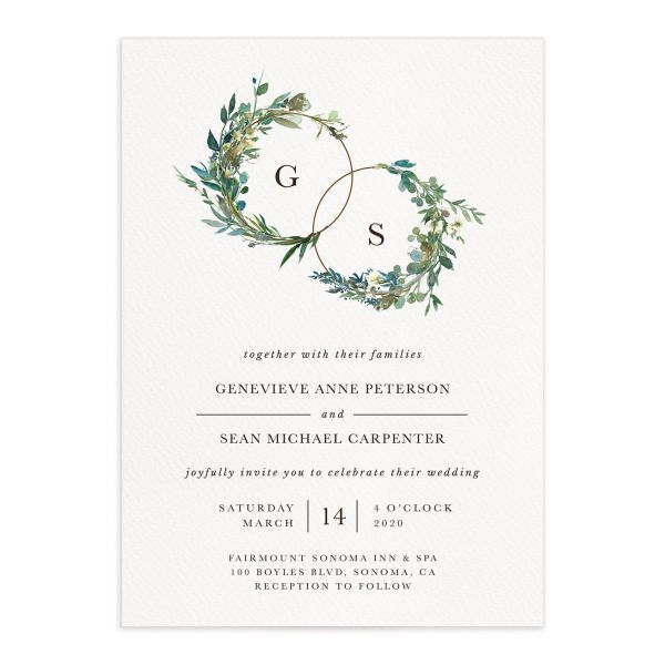 Pin By Mary Mcgann On Asmait Kesete Wedding Invitations Wedding Invitations Leaves Wedding Invitation Trends
