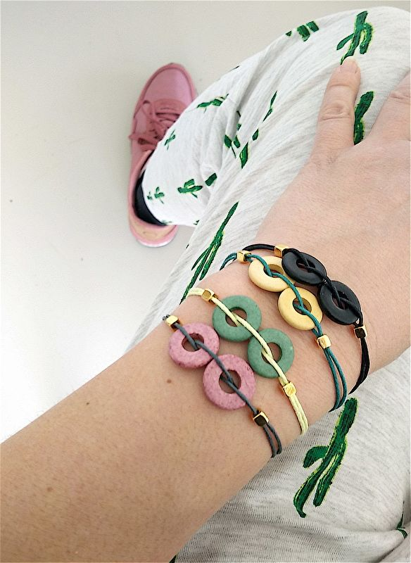 Colorful Circle Bracelet