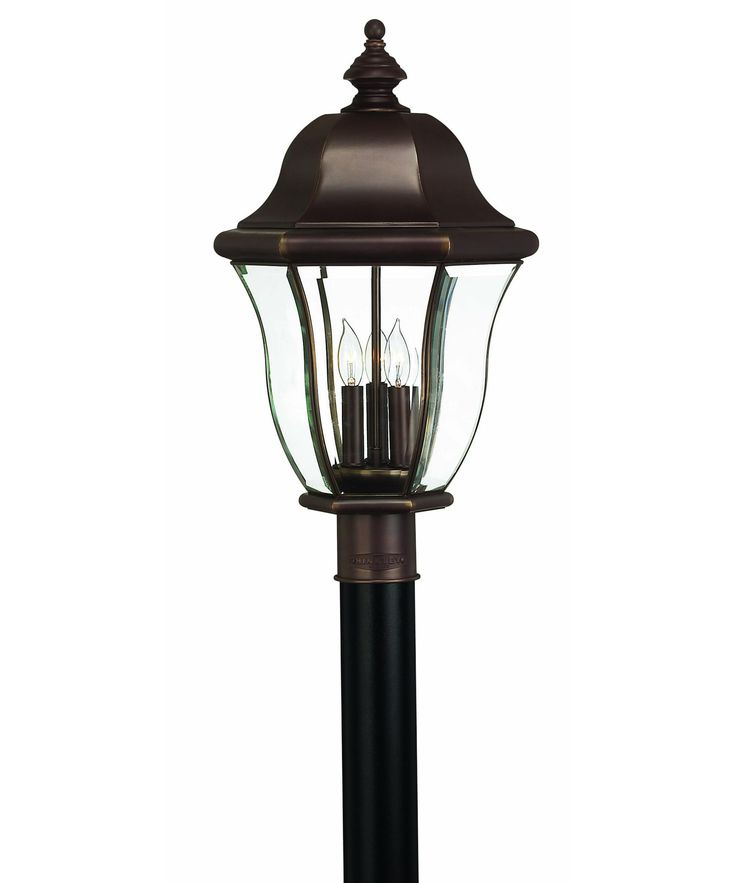 Hinkley Lighting 2331 Monticello 3 Light Outdoor Post Lamp Capitol Lighting 1 800lighting