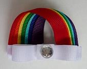 Rainbow Hair-clip (Ribbon Sculpture)