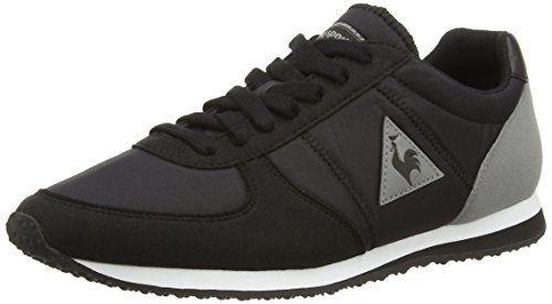 Le Coq Sportif Bolivar Classic, Sneakers Basses Adulte Mixte- Noir (Black) -42 EU (8 UK)