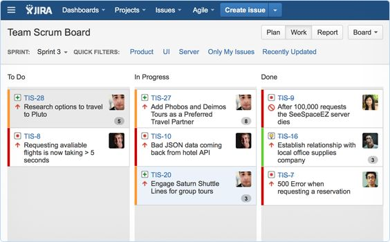 JIRA Agile - brilliant for Scrum and Kanban teams; Agile project management tool for Atlassian JIRA