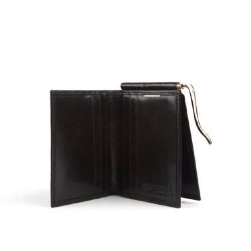 Leather Wallet with Money Clip | Leather Money Clips | Bosca