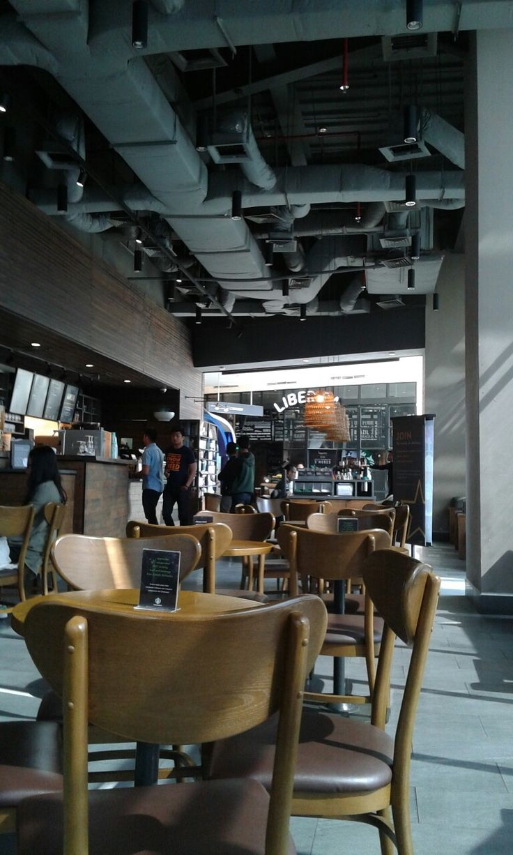 Starbucks interior design in my hometown. Those ceiling is too sexy :*   Kadang-kadang mampir bentar kesini