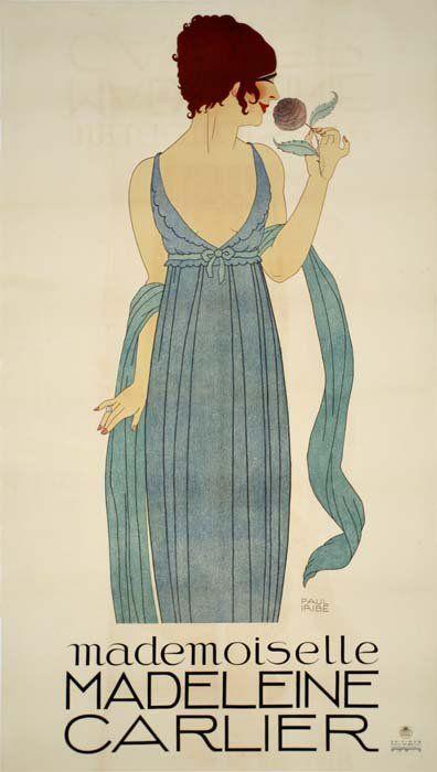 Paul iribe fashion illustrations dresses