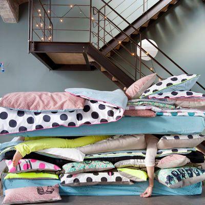 Du linge de lit pigmenté pour pimenter vos nuits - Journal des Femmes Décoration