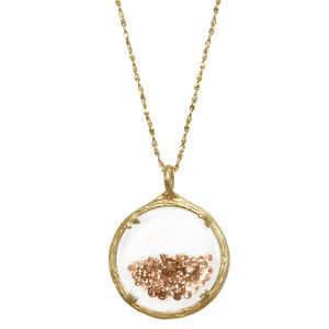 Shaker Necklace Champagne