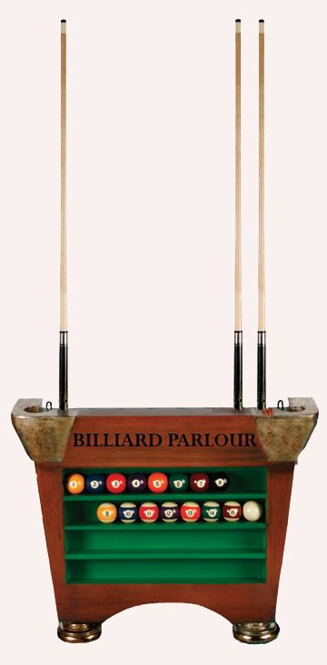 Billiard Ball and Cue Holder Pool Cue Stand Cue Rack | eBay