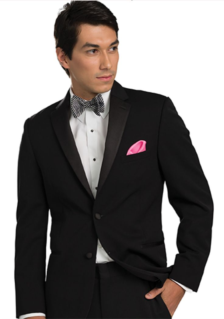 Black desire tuxedo by Michael Kors. Available at Johnson's Hub in Kewanee, IL. Tuxedo prices range $89 - $119 and include all pieces - no hidden costs!