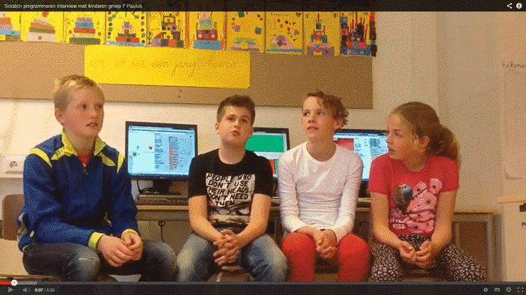 Leerlingen ontwikkelen hun talent met Scratch