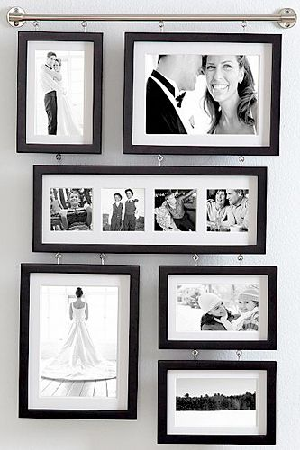 The Best Last-Minute Wedding Gifts — Forget That Picked-Over Registry #refinery29  http://www.refinery29.com/46956#slide17  Red Envelope Wall Gallery Frame, $79.95, available at Red Envelope.