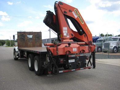 Used Knuckle Booms For Sale | Stock#12942- Palfinger PK 32080 Knuckle Boom crane For Sale