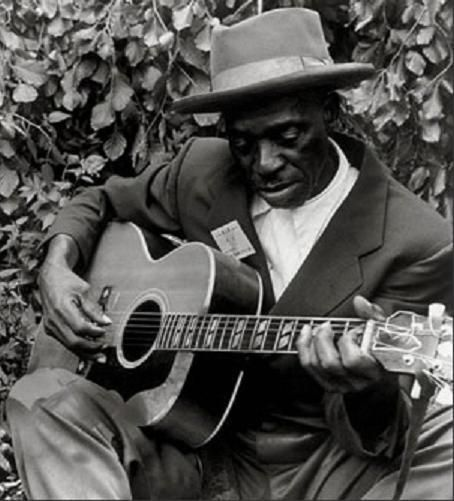"#SkipJames --- Nehemiah Curtis ""Skip"" James (June 9, 1902 – October 3, 1969) was an American delta blues singer, guitarist, pianist and songwriter. James often played his guitar with an open D-minor tuning. James's 1931 work is considered idiosyncratic among pre-war blues recordings, and formed the basis of his reputation as a musician."