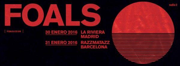 Foals en concierto en Madrid y Barcelona