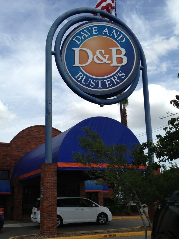 Switch up your normal routine and head to Dave & Buster's in Houston and experience something new. If you're having a party, no need to stress out about cooking, cleaning or getting tables and chairs, have your party at Dave & Buster's instead. Catch the sports highlights on one of the TVs at Dave & Buster's. Whether you want beer or something stronger, you're dionsnowmobilevalues.ml & Buster's Location: Richmond Avenue, Houston, , TX.