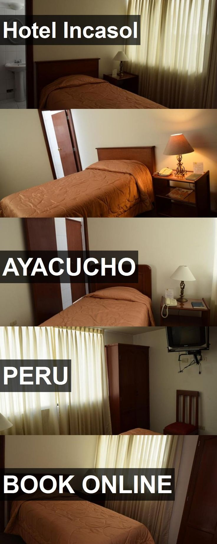 Hotel Incasol in Ayacucho, Peru. For more information, photos, reviews and best prices please follow the link. #Peru #Ayacucho #travel #vacation #hotel