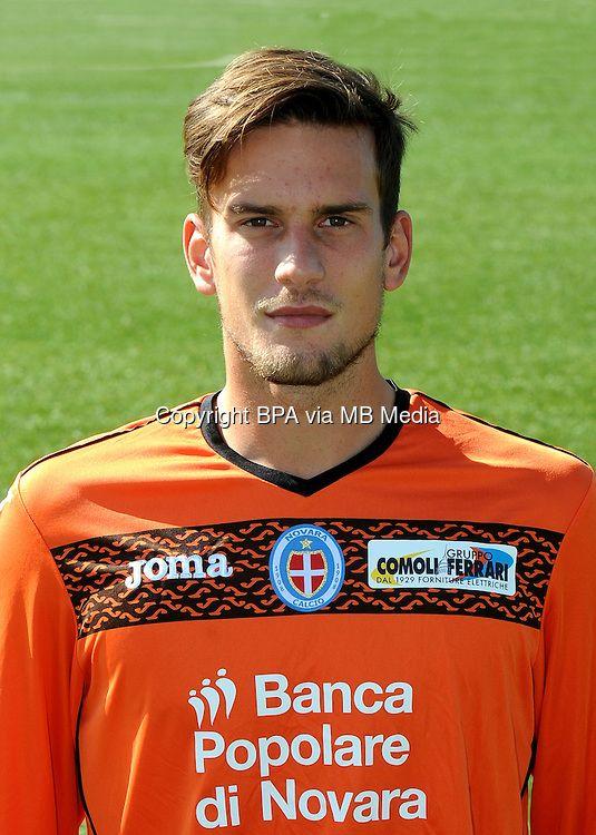 Italian League Serie B_2015-2016 / <br /> ( Novara Calcio 1908 ) - <br /> Andrea Tozzo
