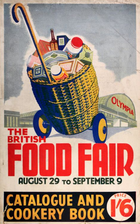 Book Cover Images Fair Use : The british food fair vintage catalogue and cookery book