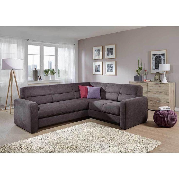 Eckcouch in Grau Bettfunktion Jetzt bestellen unter: https://moebel.ladendirekt.de/wohnzimmer/sofas/ecksofas-eckcouches/?uid=06e8a414-436b-51e8-a00b-371418459ffa&utm_source=pinterest&utm_medium=pin&utm_campaign=boards #sofaecke #sofa #funktionssofa #couch #ecksofaseckcouches #funktionsecke #wohnl #eckgarnitur #sofas #schlafcouch #schaft #schlafsofa #ecksofa #wohnzimmer #eckcouch #polsterecke