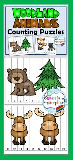 Free Number Fun with Puzzles   Are you teaching or reviewing Number Sequence and Skip Counting with your students?    Free Animal Number Puzzles  Here are some fun puzzles! This set of puzzles includes Counting by 1s and Skip Counting by 2s 5s and 10s. The kids have to put the numbers into the correct number sequence to reveal cute animal pictures. You can find this free resource at my Teachers Pay Teachers Store. Just click on the picture above or link below.http://ift.tt/2jmJtovHave fun…