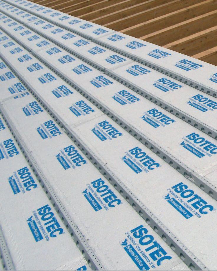 Aislante térmico / de poliuretano expandido / de espuma de poliuretano / tipo panel rígido - ISOTEC® - BRIANZA PLASTICA